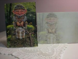 Tree-Free - Blank - A Leprechaun with  pot of gold on the Cover
