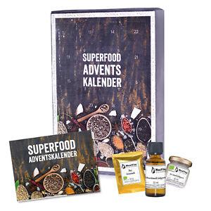 Mituso Adventskalender Superfoods, Modell 2020, MHD 06-21 bis 09/30