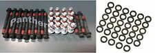 Chevy 265 283 302 5.0 305 5.7 350 400 Cylinder Head Bolts Washers Set