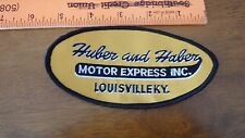 TRUCKING  PATCH  HUBER AND HABER MOTOR EXPRESS INC LOUISVILLE KY  BX 10 #3