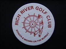 RICH RIVER GOLF CLUB ECHUCA & MOAMA ON THE MURRAY COASTER