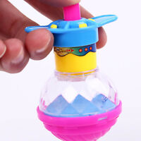 Classic Funny Flash Glowing Colorful Spinning Top Kid's Toy Gifts Color Random