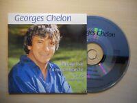 GEORGES CHELON : LE PIANO VIDE / LA MAISON BLANCHE [ CD SINGLE ]