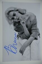 Brenna Whitaker US-JAZZ SIGNED 20x30cm PHOTO AUTOGRAFO/Autograph in persona.