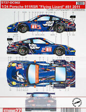 ST27 PORSCHE 911RSR FLYING LIZZARD #81 (2011) DECAL LAW NEIMAN for 1/24 FUJIMI