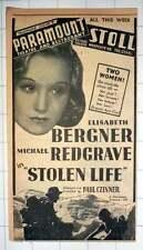 1939 Paramount Theatre Restaurant Stoll Westgate Road Stolen Life Ad