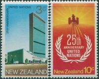 New Zealand 1970 SG938-939 United Nations set MNH
