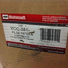 Ford Motorcraft YCC-381 FL3Z-19703-A One Compressor