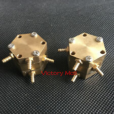 2pcs Dental Hexagonal Water Air Valve For Dental Oral Chair Unit Parts Device