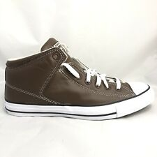 Converse Chuck Taylor All Star High Street Brown Leather Sneaker Sz 9