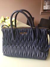 c2b1030e9f96 Authentic Miu Miu Matelasse 2way Bag. 12 Inches Wide X 9