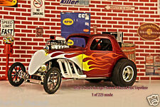 1/18 GMP FIAT Topolino RED with flames Tom's Garage NEW