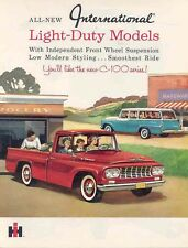 1961 International C100 Pickup Truck Sales Brochure wb4873-ODV48Z