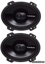 """Rockford Fosgate P1683 6 """"X8"""" voiture coaxial haut-parleurs 65W RMS 1 paire idéal ford"""