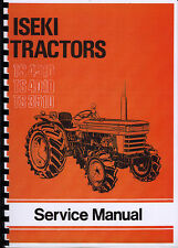 Iseki TS 4510, TS 4010, TS 3510 Tractor Service Manual