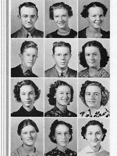 1938 Tulsa OK Central High School Yearbook~Photos~History~Albert Schwab~++++