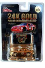 RC 24K Gold Plated  Ricky Craven #50 Chevrolet Monte Carlo Hendrick
