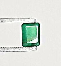 .89CT NATURAL COLOMBIAN EMERALD LOOSE STONE 7X5mm Gemstone