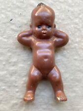 Vintage black/brown baby doll hard plastic