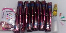 12 Kaveri henna mehendi cones temporary tattoo body art kit free applicator oil