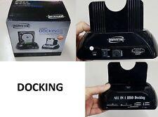 DOCK DOCKING STATION HARD DISK 3,5 2,5 SATA HDD 2 USB BOX CASE USB SD XD MS-MNT-