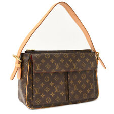 Auth LOUIS VUITTON Monogram Viva Cite GM M51163 Shoulder Bag Brown Canvas