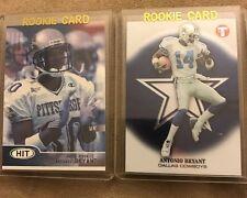 2 Antonio Bryant Rookie Cards 2002 Topps Pristine & Sage Hit Dallas Cowboys Nice