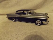 VINTAGE DIECAST--1957 CHEVY BEL AIR 2 DR HARDTOP--1/24 SCALE--VERY NICE