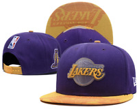 Los Angeles Lakers NBA Basketball Embroidered Hat Snapback Adjustable Cap