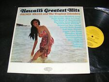 Lovely Hawaiian Gal Cover PRINCE KALUA & The Tropical Islanders HAWAII'S HITS LP
