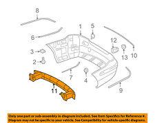 for Mercedes-Benz CLK320 MB1144112 2003 to 2009 Rear, Center New Bumper Trim