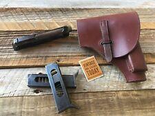 Beautiful Original Ww2 holster For Beretta 1934 1935 Italian Army Brown Holster