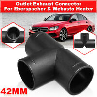 42mm Heater Air Vent Ducting TPiece Outlet Splitter Connector For Webasto Heater