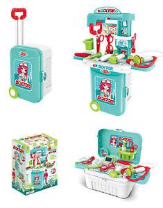 Doctor  3 in 1 Medical  Set  Doctors Kit Toy  Playset Nurse Medical Role Play UK