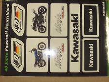 40 Jahre Kawasaki Dekor Aufkleber Sticker Ninja ZX-6R ZX-7R ZX-10R ZX12-R H2R H2