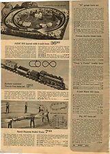 1970 ADVERTISEMENT Train Tyco Marx .027 Gauge N HO RideÉm Railroad Mighty Casey