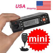 Car 136-174/400-490MHz Dual Band VHF/UHF Mobile Radio Transceiver Walkie Talkie