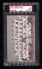 1947-66 EXHIBITS 1949 DODGERS TEAM ROBINSON PSA 5(MC)