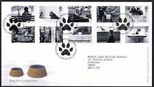 Cats & Dogs 2001 First Day Cover - SG2187 to SG2196 Edinburgh Cancel