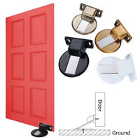 Anti-Collision Door Stopper Magnetic Catch Floor Mounted Invisible Home Garden