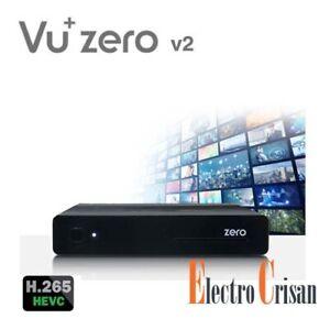 Vu+ ZERO V2 H265 HEVC Receptor Satelite DVB-S2 FullHD 1080p Enigma2 24/48 horas