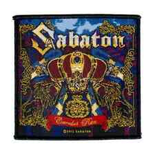 SABATON Woven Patch CAROLUS REX Aufnäher ♫ Swedish Power Metal ♫