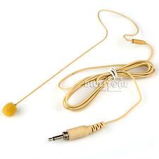 Poloere Headset Earhook Mic Head Worn Microphone for Audio Technica Wireless