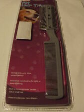 Pet Care >>>Dog & Cat Hair Trimmer With Comb and Extra Razors (BURDOCK GONE)