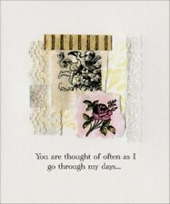Angel & Rose Thinking of You Card - Greeting Card by Freedom Greetings