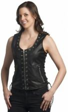 2682 Ladies Leather Vest