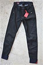 pantalon résiné slim noir M&F GIRBAUD skinnycle taille 34 (W 24) NEUF ÉTIQUETTE
