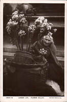 London Life. Flower Seller by Rotary # 10513-12