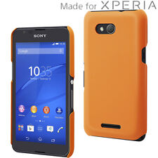 (RV423) JOBLOT of 42 x Muvit Soft Touch Back Case for Sony Xperia E4g