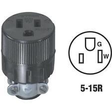 50 Pk Do it 15A 125V 3-Wire 2-Pole Round Electric Cord Connector C20-00617-00E